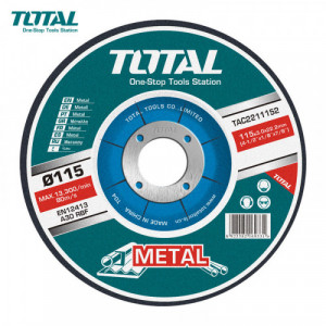 "DISCO DE CORTE METAL TOTAL 7"" X 7/8"" (TAC2211801)"
