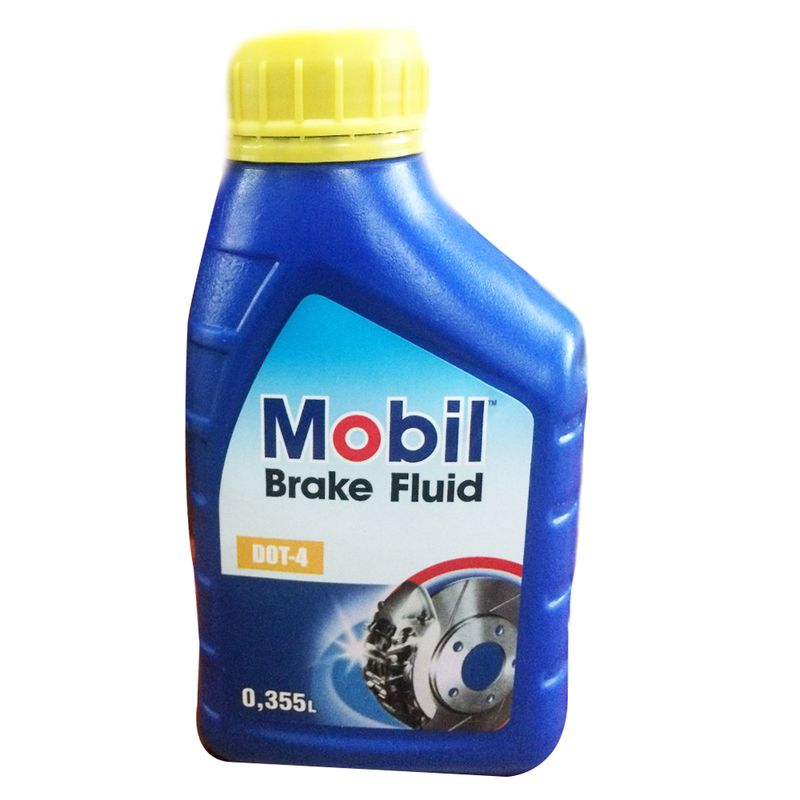 MOBIL BRAKE FLUID DOT-4 355 ML.